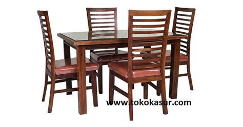 Dining Merah Set Meja Makan meja makan kursi makan dining table meja makan minimalis