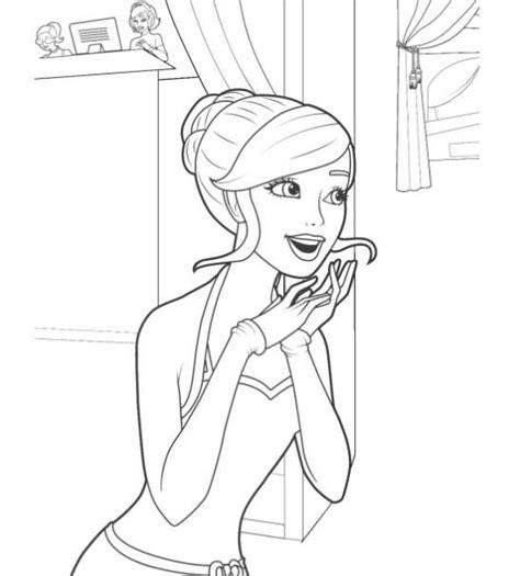 de  baesta barbie coloring pages bilderna pa pinterest