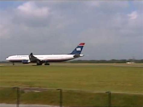 aborted or rejected takeoff a330 usairways manchester airport rejected takeoff 29 05