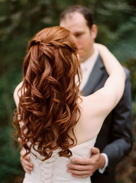 bridal hairstyles for red hair the awesome and also gorgeous wedding hairstyles long red