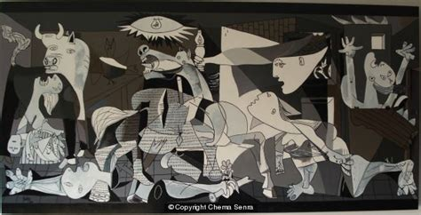 picasso paintings bombing of guernica guernica acrylic on wood