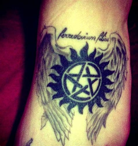 supernatural tattoo supernatural dean quotes with meaning quotesgram