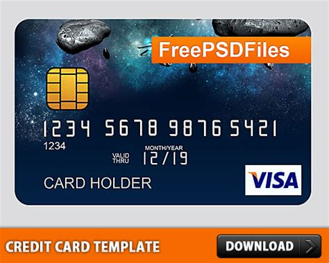 credit card on file template free psd credit card template psd