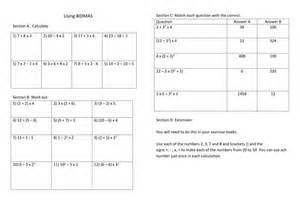 maths worksheet number operations using bidmas by janperr
