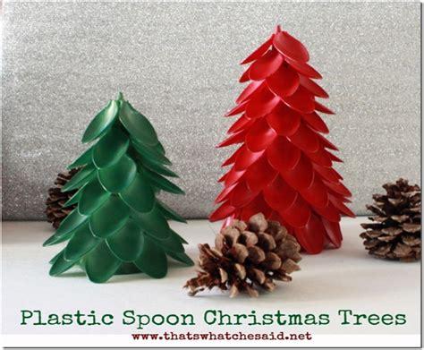 7 diy plastic spoon decorations