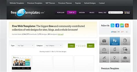 resource directory template free web templates free resource directory