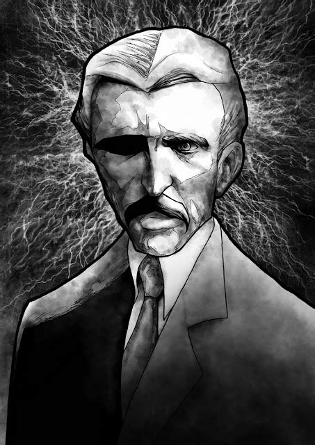 Who Created Tesla A Wolf Illustrations Nikola Tesla The Who