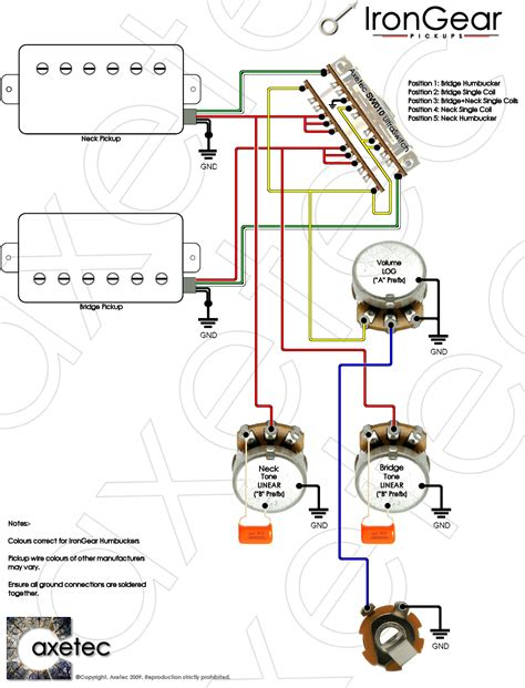 electric guitar 2 wiring schematic wiring