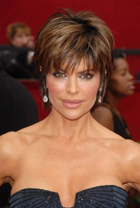 hairstyles lisa rinna back view lisa rinna modern pixie haircut for a 50 years old lady