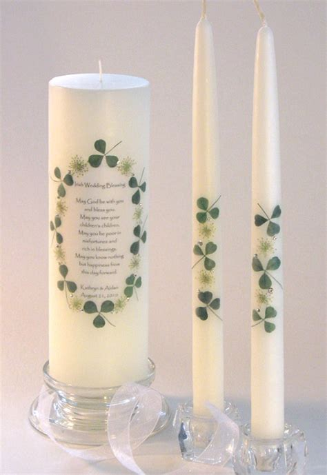 Wedding Blessing Unity Candle Set by Pin By Mcgowan On Wedding