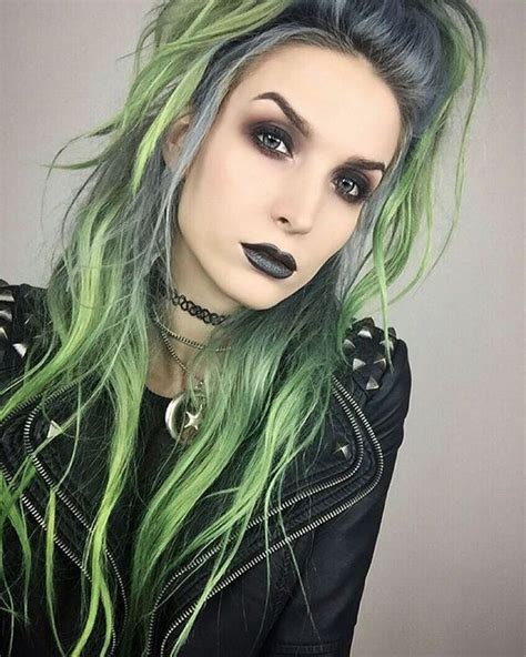 Green Hairstyles by 9 Best Grey Green Hair Images On Colourful
