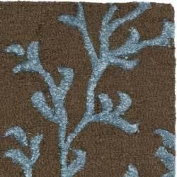 safavieh soho brown light blue area rug reviews wayfair