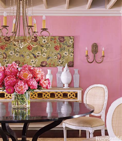 pink walls what color curtains pink paint colors transitional entrance foyer