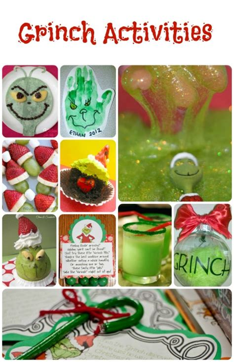 grinch pinterest kids party ideas grinch activities