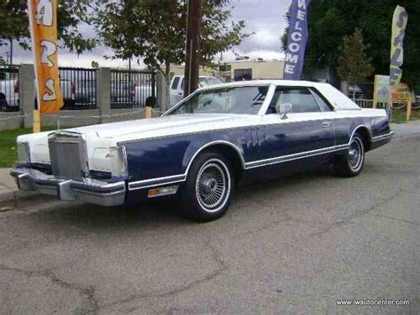 1979 lincoln continental value 1979 lincoln continental for sale on classiccars