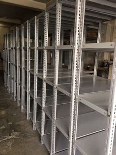 Rak Besi Siku dexion hi280 boltless shelving with all the accessories shelves doors dividers pull out