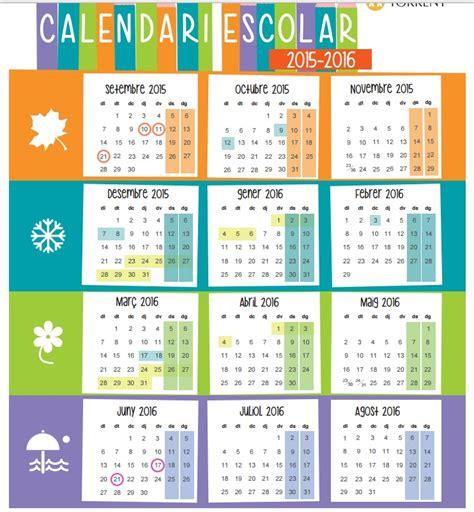 Calendario 2017 Con Feriados Incluidos Torrent Publica El Calendario Escolar Con Clase El 16 De