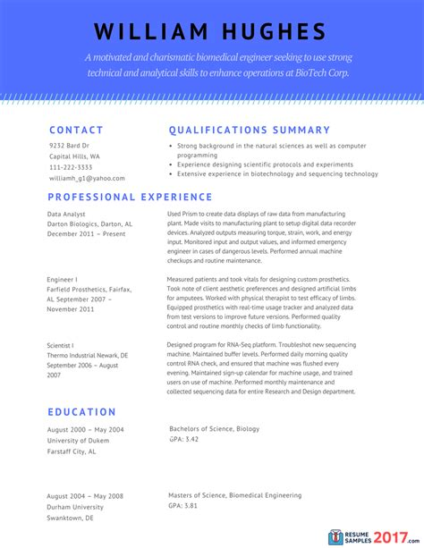 Resume Template 2017 Chronological Great Combination Resume Sles Resume Sles 2017