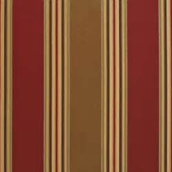 Microsuede Upholstery Fabric Burgundy And Beige Large Shiny Stripe Damask And Silk