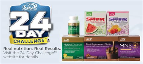 advocare 24 day challenge while a 24 day commitment to a new you if tom can do it