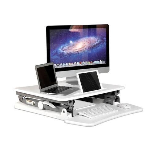 Vari Desk by Rapid Riser Height Adjustable Sit Stand Desktop Sit