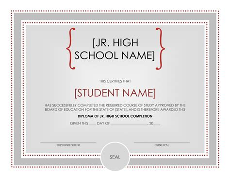 school certificates templates 30 free high school diploma template printable