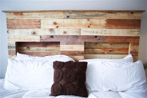 diy wood pallet headboard 10 different pallet headboard pallets designs
