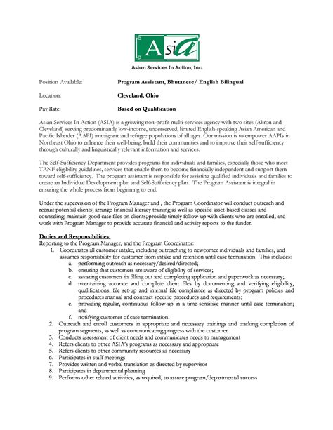 Cover Letter For Bilingual Assistant Cover Letter For Customer Sales Representative Stonewall