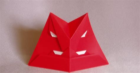 origami figures fumblings of an origami novice masks and human figures