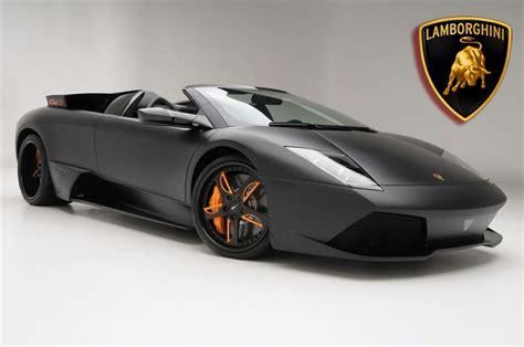 Luxury Lamborghini Cars: Black Lamborghini Murcielago