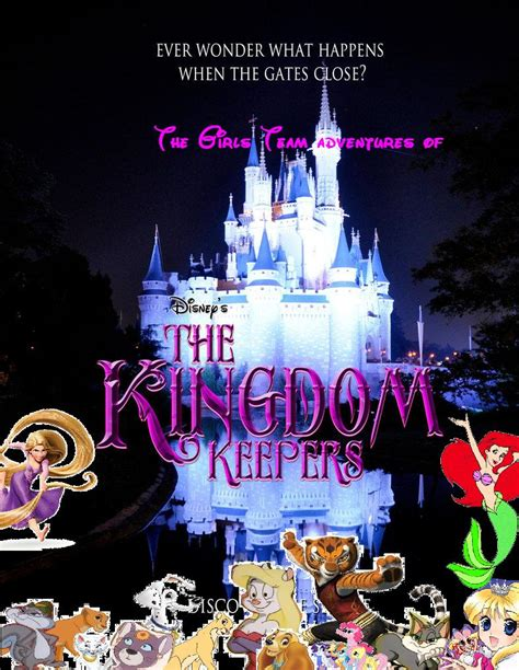 themes in kingdom keepers the girls team adventures of kingdom keepers by