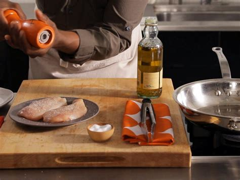 Food Network Giveaway - how to saute meat and fish food network food network fantasy kitchen giveaway