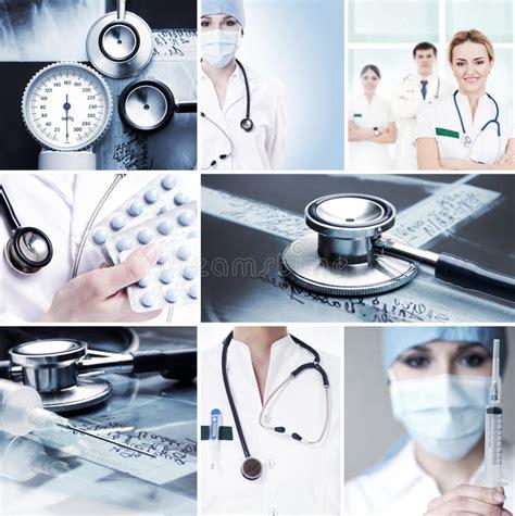 imagenes de herramientas medicas un collage de trabajadores m 233 dicos y de herramientas