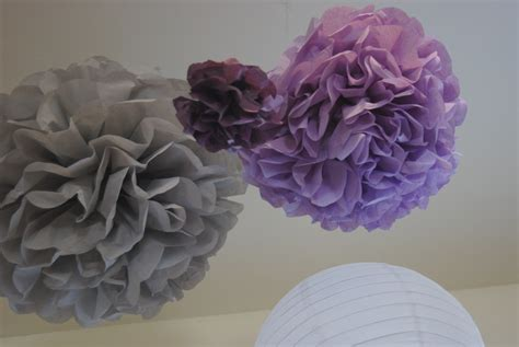 How To Make Tissue Paper Puff Balls - the diy paper pom puff balls adventurouseveryday
