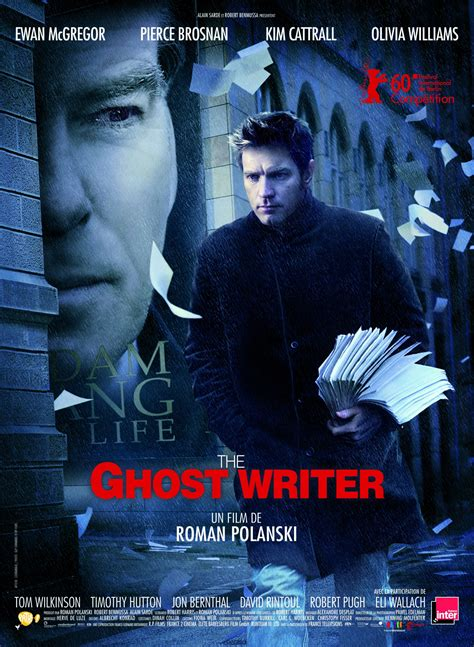 the ghost writer affiche et photos the ghost writer