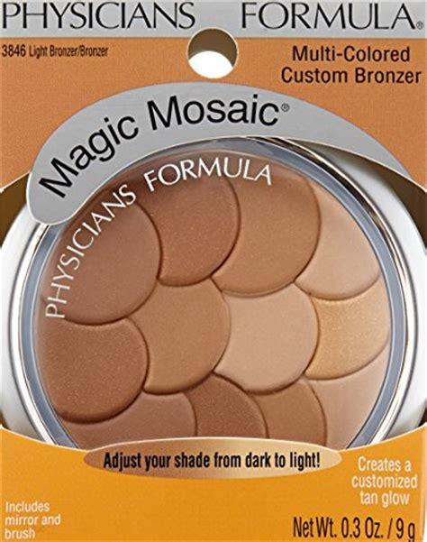 physicians formula multi colored light bronzer physicians formula magic mosaic multi colored custom face