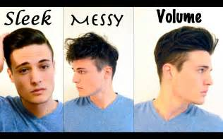 try new hairstyles virtually 360 degree mens hair 3 different styles youtube
