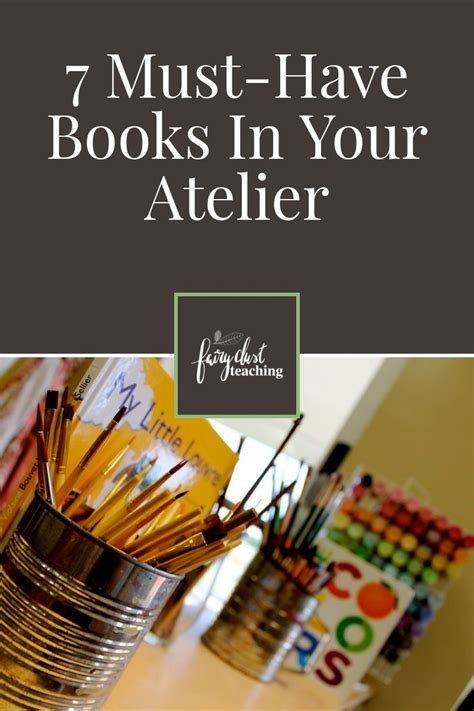 7 Books Your Will by 7 Must Books In Your Atelier