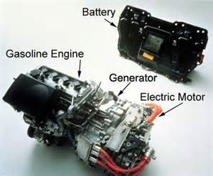 Electric Generator In Car Engine As You Can See From The Picture The Combination Gasoline