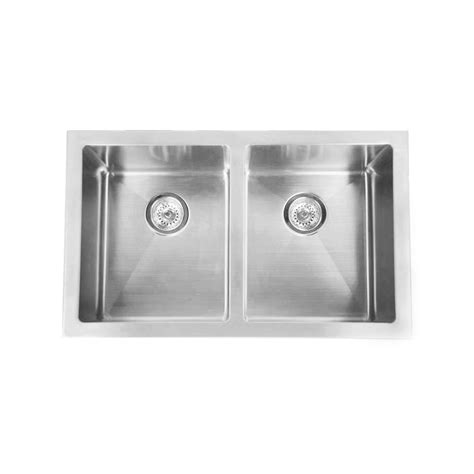 colonial stainless steel belfast double sink  sink