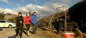 bad swinging experience samantha armytage is thrown from a cliff face in canyon