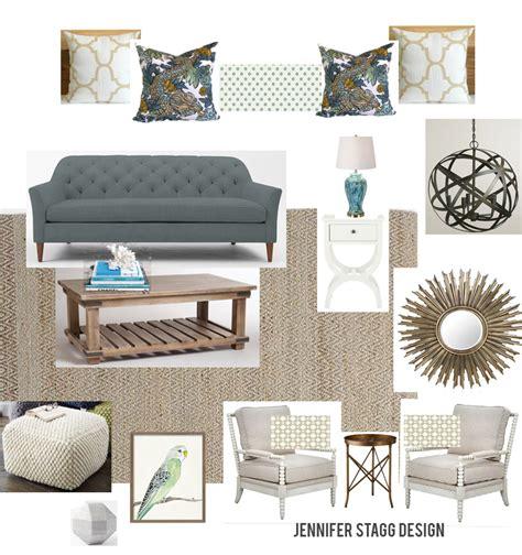 living room design board e design
