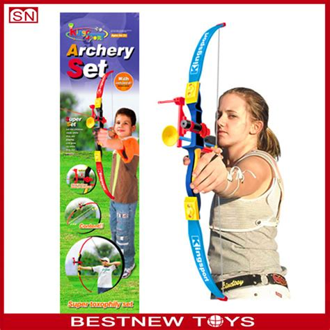 Playset Bow Lines item boy bow and arrow shooting target play set