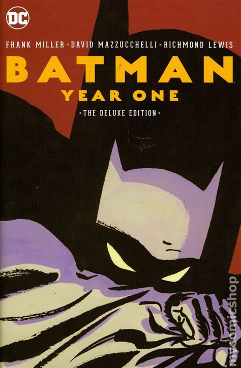 libro batman year one batman year one hc 2017 dc deluxe edition 3rd edition comic books