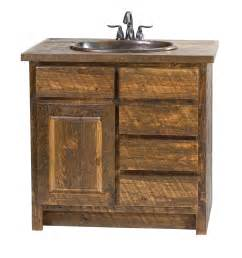 rough sawn pine vanity rustic furniture mall by timber creek