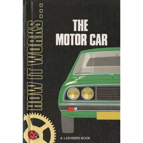 how it works the motor car ladybird book cover postcard ebay 574 best images about england love ladybird books on eric winter ladybird ladybird