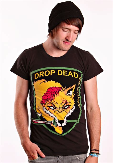 Drop Dead Shirt drop dead big t shirt impericon worldwide