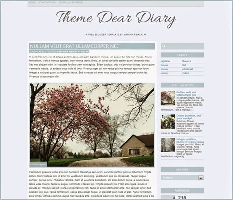 dear diary template 17 images about free templates on the