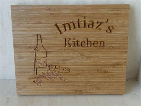 custom logo engraving crafted personalized bamboo cutting board custom