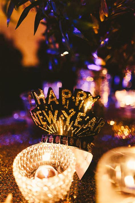 glitzy glam new years wedding